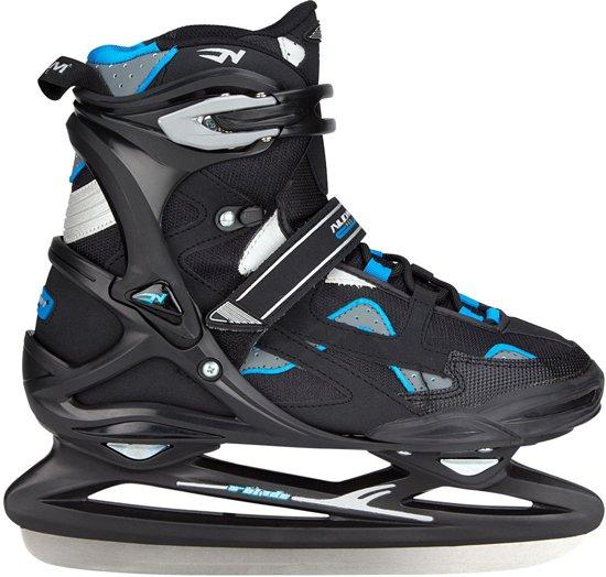 Nijdam 3381 Pro Line IJshockeyschaats - Schaatsen - Mannen - Zwart - Maat 48