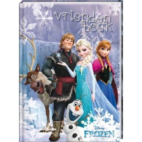 Vriendenboek- Interstat - Frozen - Kinderen - 14 X 19 cm