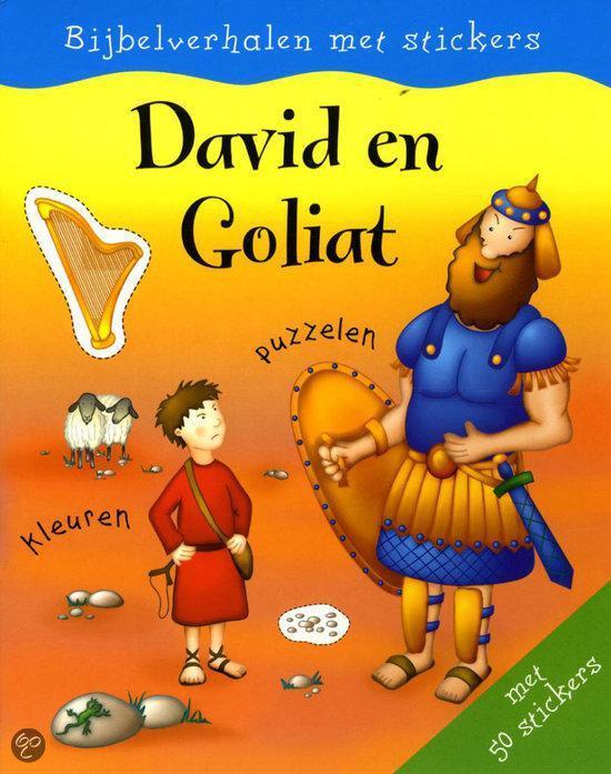 Stickerboek david en goliat