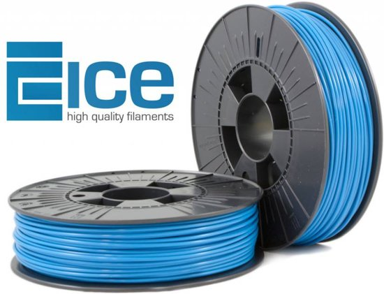 ICE filaments ABS Blauw 1,75 mm (0,75 kg)