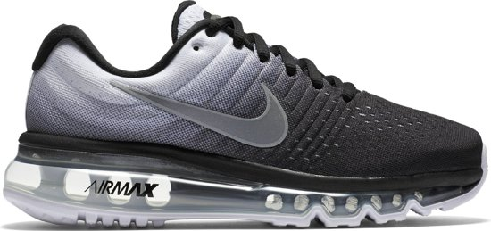 Nike Air Max 2017 Sneakers Kinderen - Black/White-851622-003 maat 37.5