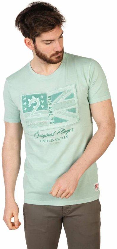 Heren T-shirt van U.S. Polo - groen