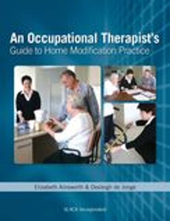 Bol An Occupational Therapists Guide To Home Modification