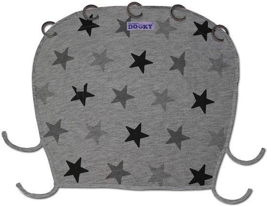 Dooky kinderwagenscherm 'Grey Star'