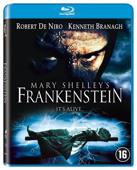DVD cover van MARY SHELLEYS FRANKENSTEIN