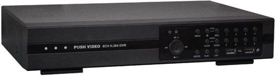Digitale Videorecorder - 8 Kanalen - H.264 - Hmdi/Vga - Eagle Eyes - Push Video