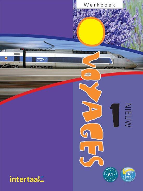 Boek cover Voyages - nieuw 1 werkboek + online MP3 van Sword, Jacqueline / Verger, Nico (Onbekend)