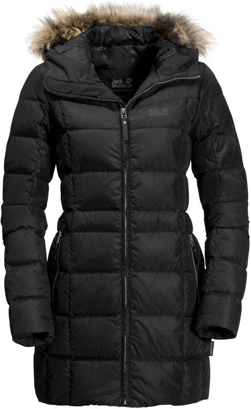 Jack Wolfskin Baffin Island Winterjas Dames  Sportjas - Maat XL --CONVERTVolwassenenVolwassenen - zwart