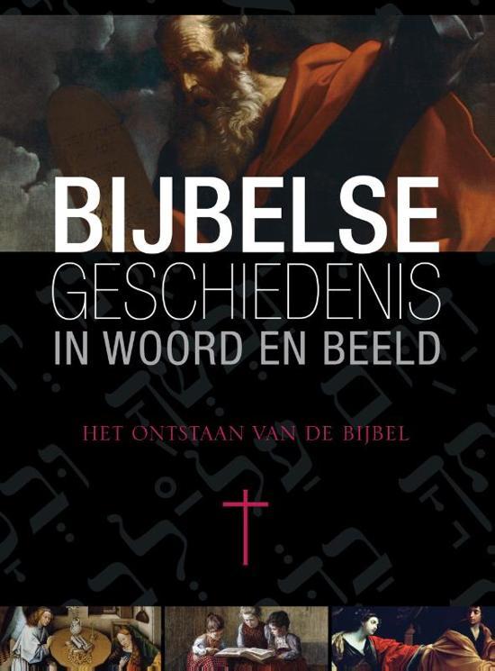 Boek cover Bijbelse geschiedenis in woord en beeld 10 Het ontstaan van de bijbel van Reinier Sonneveld (Hardcover)