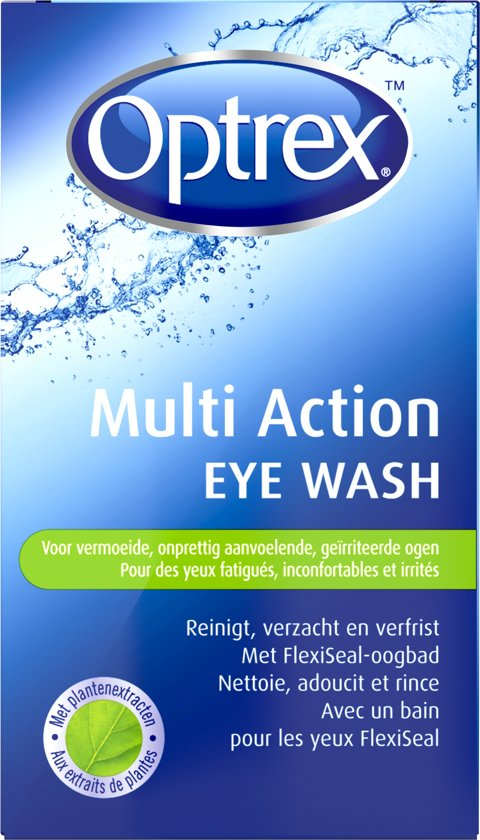 Optrex Multi Action Eye Wash - Oogbad - 100 ml