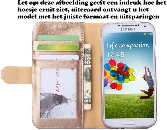 Premium Leer Leren Lederen Hoesje Book - Wallet Case Boek Hoesje voor Sony Xperia Z5 Goud in Wange