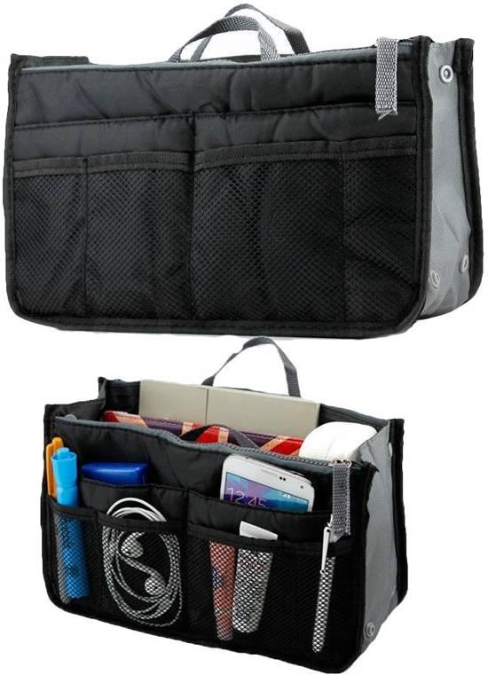 aa380b8a460 Organizer - tas organizer zwart - opbergtas - bag organizer - DisQounts