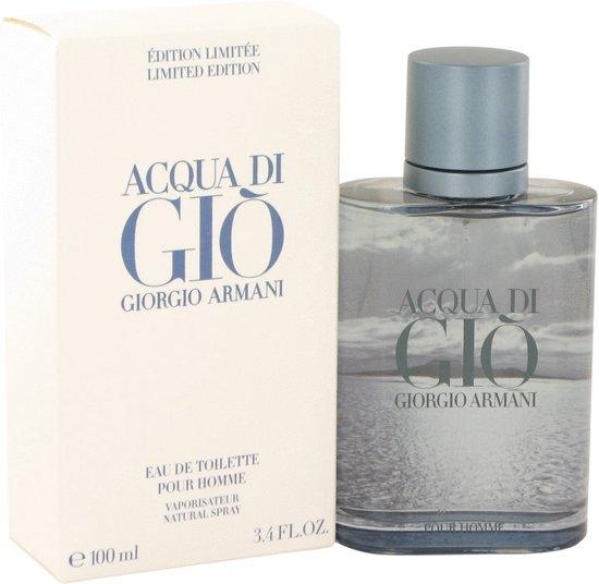 Giorgio Armani Acqua Di Gio Blue Edition 100 ml - Eau De Toilette Spray (Limited Edition) Men