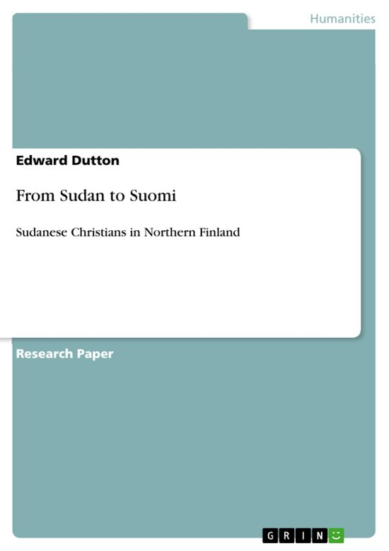 From Sudan to Suomi