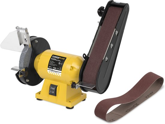 Powerplus POWX1270 Bandschuurmachine & Slijpmachine - 240 Watt - Inclusief 2 schuurbanden