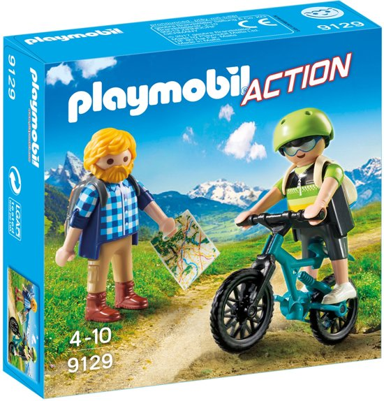 Playmobil Action: Wandelaar En Mountainbiker (9129)