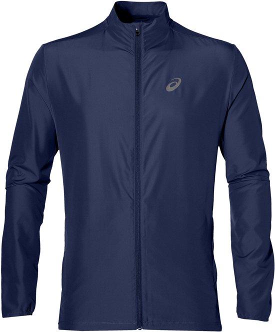 Asics Running  Sportjas - Maat M  - Mannen - donker blauw