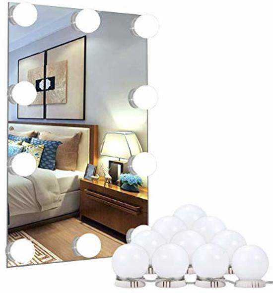 Dimbare Hollywood spiegel - Badkamerspiegel