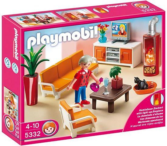 bol.com | Playmobil Gezellige Woonkamer - 5332, PLAYMOBIL | Speelgoed