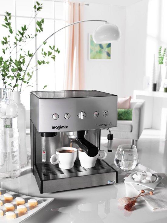 Magimix L'expresso Automatic Halfautomatische Espressomachine