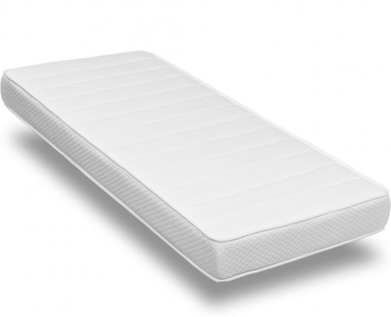 Matras 90x200 x 17 cm - Koudschuim HR40 - Medium