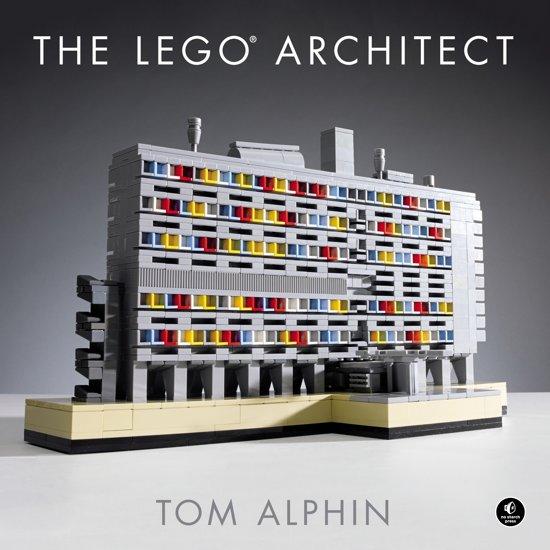 Boek cover Lego architect van Tom Alphin (Hardcover)