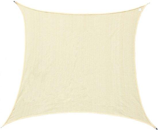 Schaduwdoek 2 5x2 5.Bol Com Schaduwdoek Vierkant 2 5x2 5 Meter Creme Wit