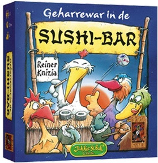 Afbeelding van het spel Geharrewar in de Sushibar - Dobbelspel