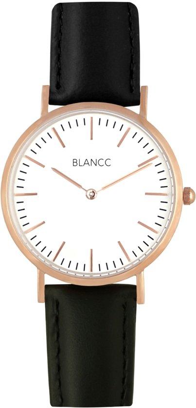 Armband horloge dames leer