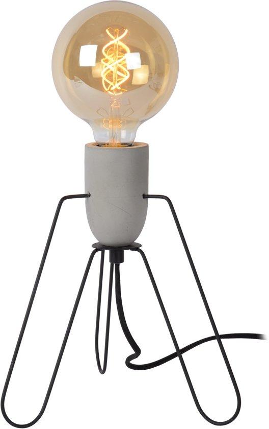 Lucide SEMIH - Tafellamp - Ø 24 cm - Grijs