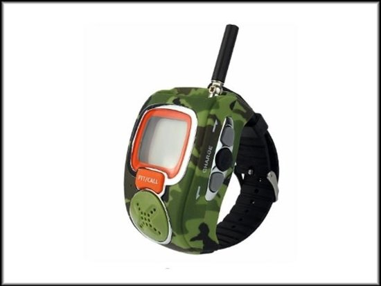 PMR Portofoon - Walkie Talkie Wrist Watch set camouflage