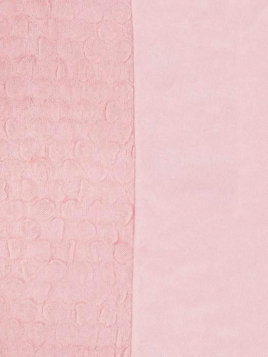 Jollein Waskussenhoes Fancy Knit Blush Pink 50x70cm