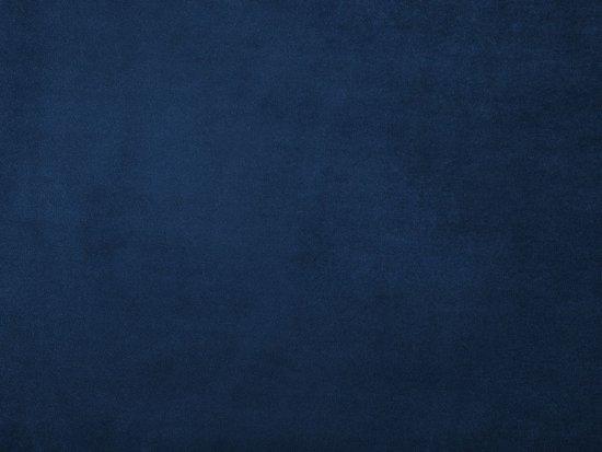 Beliani LOKKA 3-Zits bank Blauw Stof