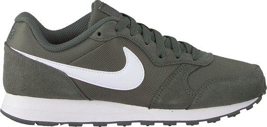 Nike Md Runner 2 (Gs) Sneakers Dames - Groen - Maat 35.5