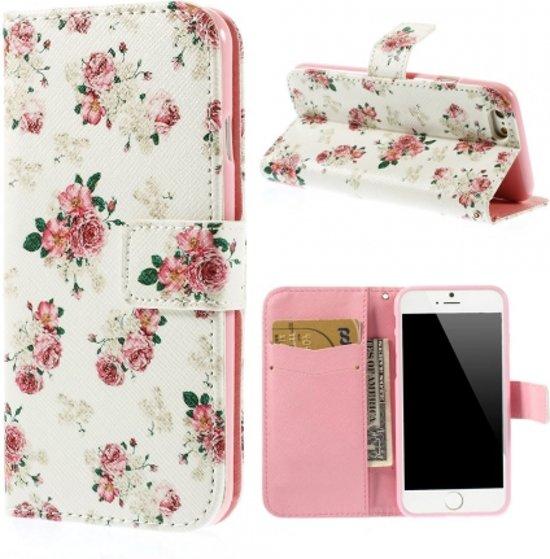 KEES Portemonnee Hoesje Apple iPhone 66S Bloemen