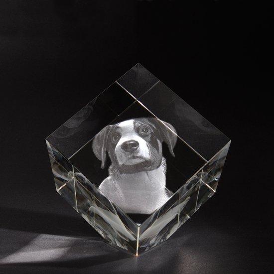 3d Glazen Kubus.3d Foto In Hoogwaardig Kristalglas Model Kubus Xxl