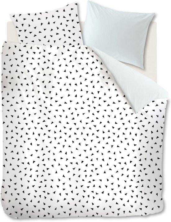 Ambiante Lana - Dekbedovertrek - Eenpersoons - 140x200/220 cm - Mint Groen