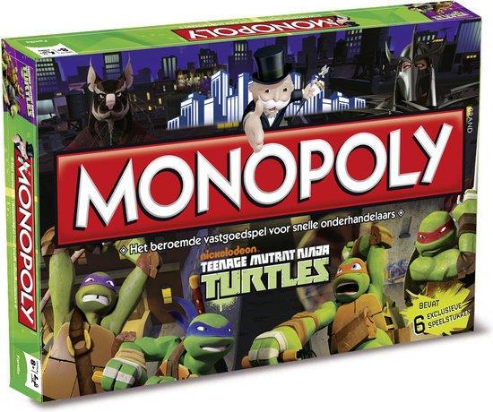 Monopoly Teenage Mutant Ninja Turtles - Bordspel
