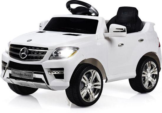 Bol Com Mercedes Benz Ml350 Wit Elektrische Kinder Accu Auto 6 V