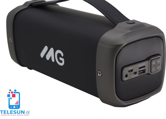 wireless speaker MG met FM radio-ZWART M61G