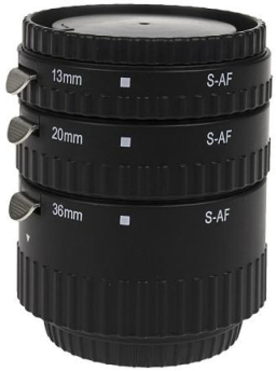 Premium Auto Focus Macro Extension Tube Canon / Meike MK-C-AF1-A