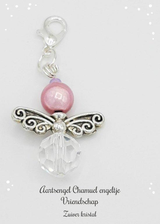 Kristal engeltje aartsengel Chamuel zielsverwanten