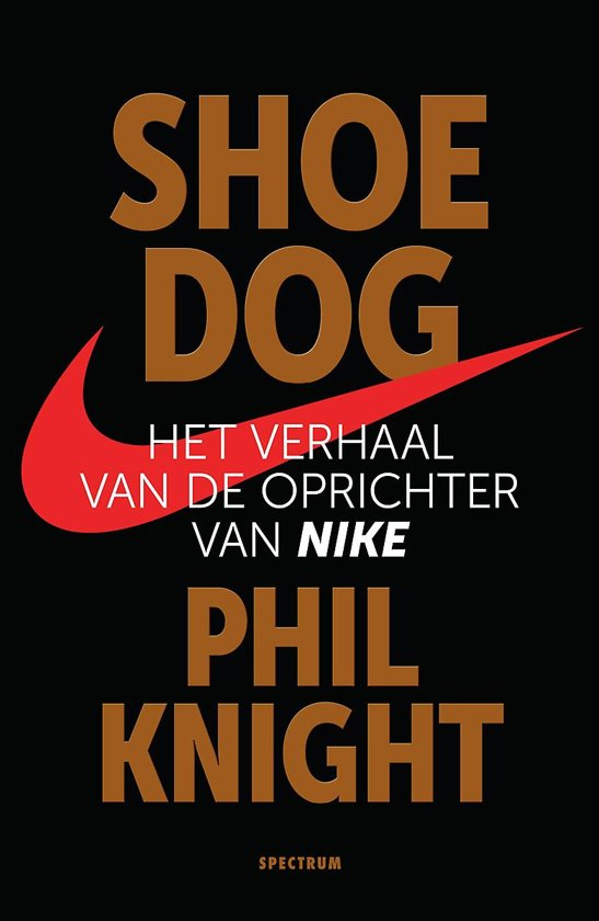 Boek cover Shoe Dog van Phil Knight (Paperback)