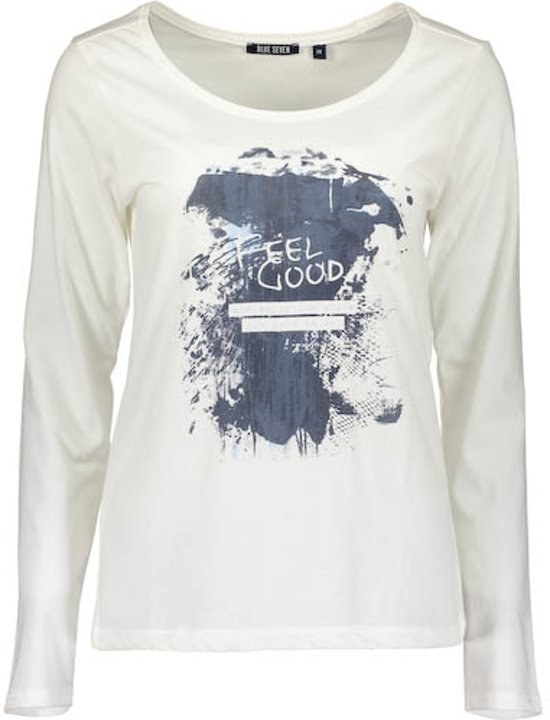 Blue Dames print Maat 40 Seven Shirt White Off q41Tq
