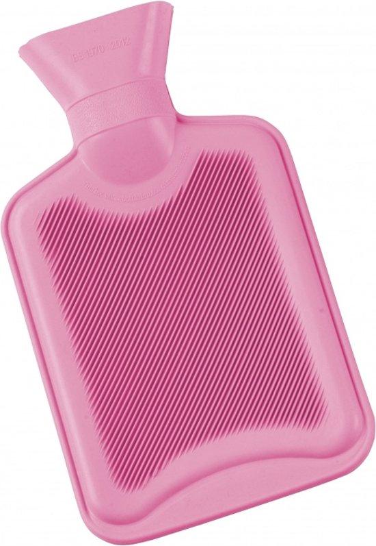 3dd63944e91 Premium Rood Geribbelde Kruik – 2 Liter – 100% Natuurlijk Rubber  Warmwaterkruik