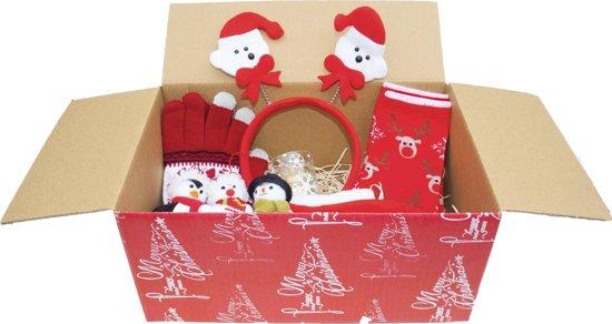 Kerst Cadeau Pakket Kerst Gift Set Kerst Handschoenen Muts Kaarsen En Meer Incl Verrassing