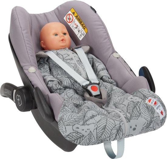 Lodger Baby slaapzak - Hopper BotAnimal - Grijs - Lange mouw - 86/98