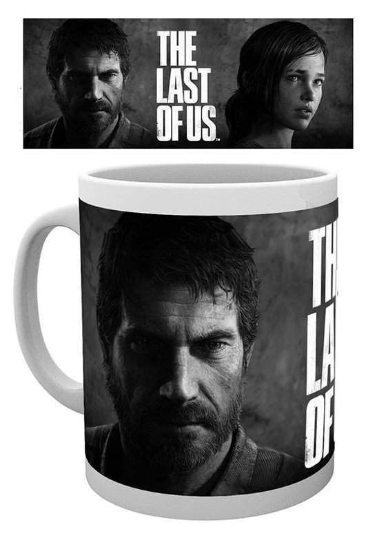 Merchandisehouse The Last of Us Black And White mok