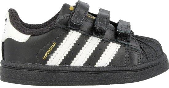 adidas superstar foundation j w schoenen zwart wit