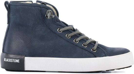 Blackstone Mannen Sneakers -  Qk-78 - Blauw - Maat 37